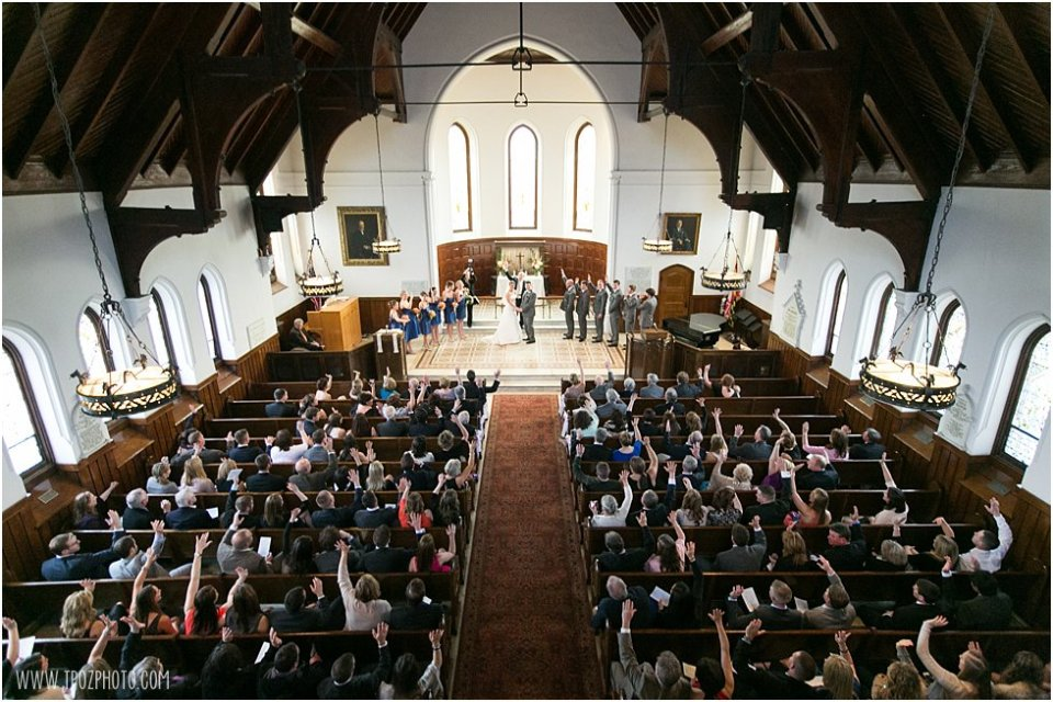 Tagart Chapel Wedding Ceremony