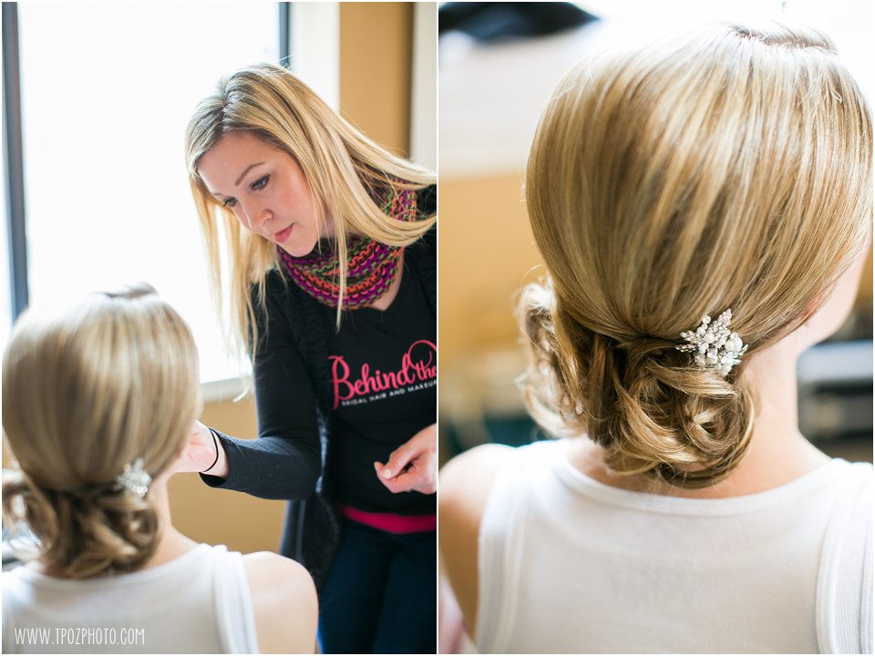 Bridal Up-Do - Behind the Veil Beauty