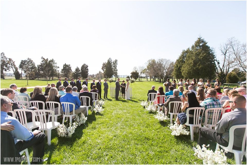 Jefferson Patterson Park Wedding Ceremony
