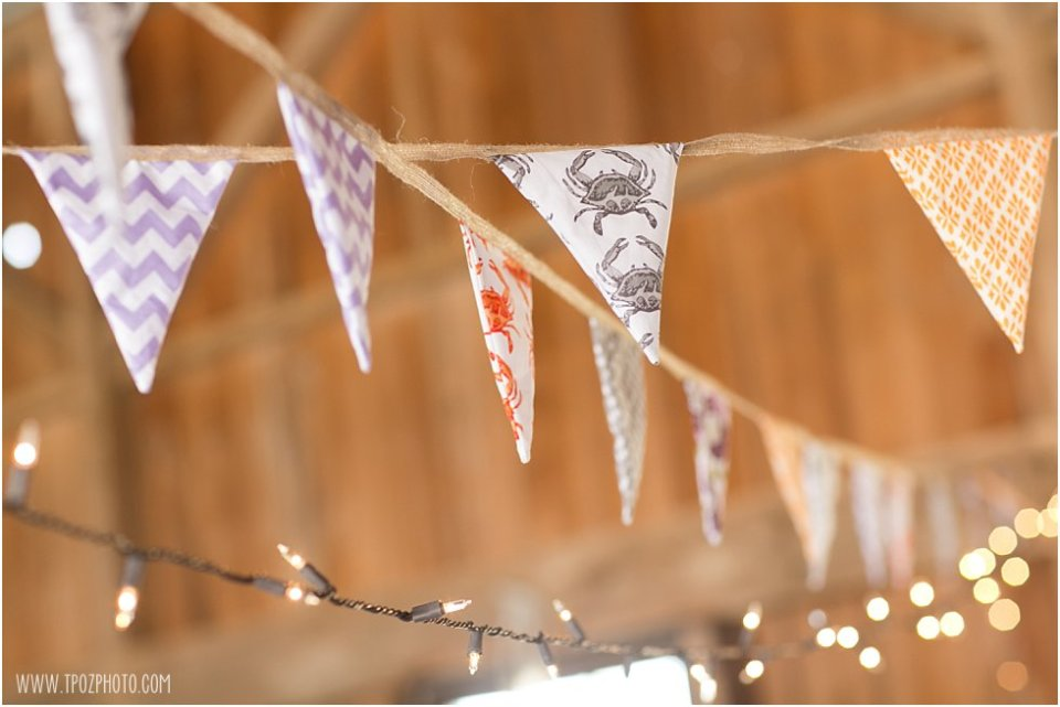 Bunting - Wedding Reception