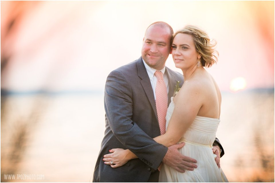 Sunset Wedding Photos - Jefferson Patterson Park Wedding