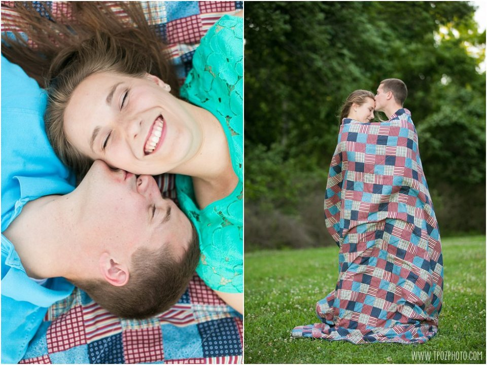 Quiet Waters Park Engagement Photos  •  tPoz Photography  •  www.tpozphoto.com