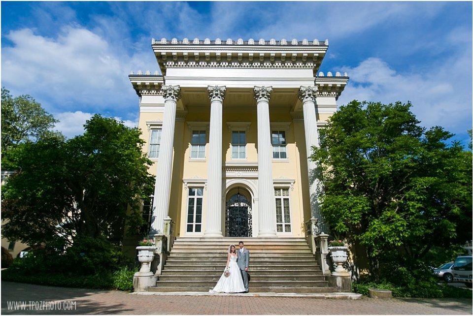 Evergreen Museum Wedding Photos •  tPoz Photography  •  www.tpozphoto.com