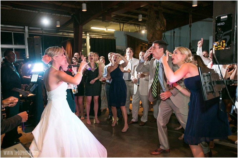 Baltimore Museum of Industry Wedding  •  tPoz Photography  •  www.tpozphoto.com