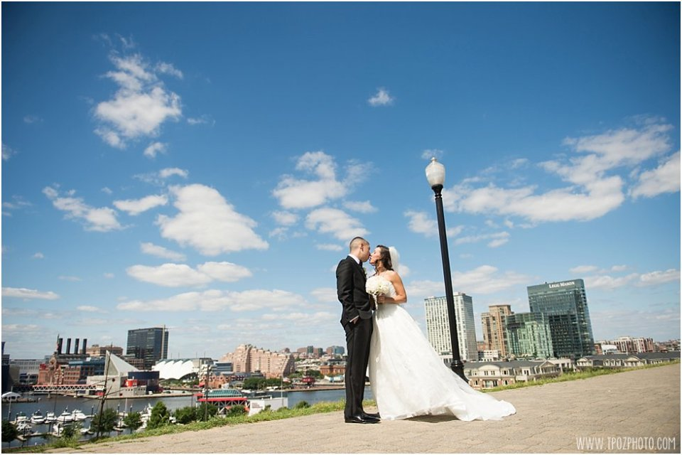 First Look Federal Hill Wedding •  tPoz Photography  •  www.tpozphoto.com