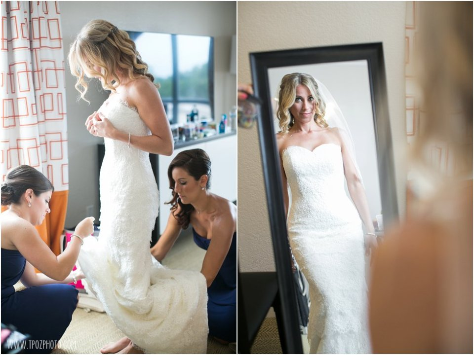 Loews Annapolis Wedding Prep  •  tPoz Photography  •  www.tpozphoto.com