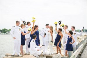 Naval Academy Annapolis Maritime Museum wedding