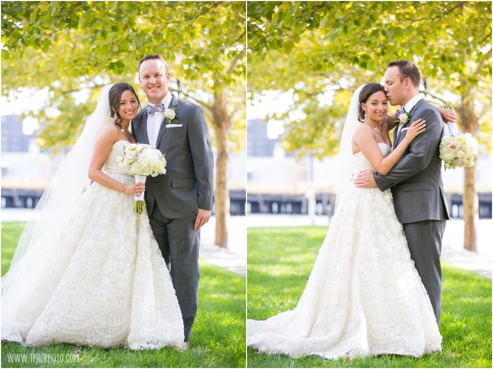 First Look Wedding Photos • tPoz Photography  • www.tpozphoto.com