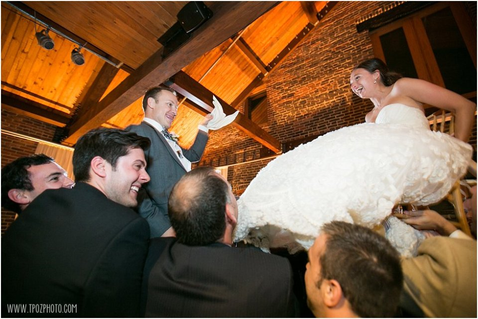 The Horah - Fells Point Wedding  • tPoz Photography  • www.tpozphoto.com