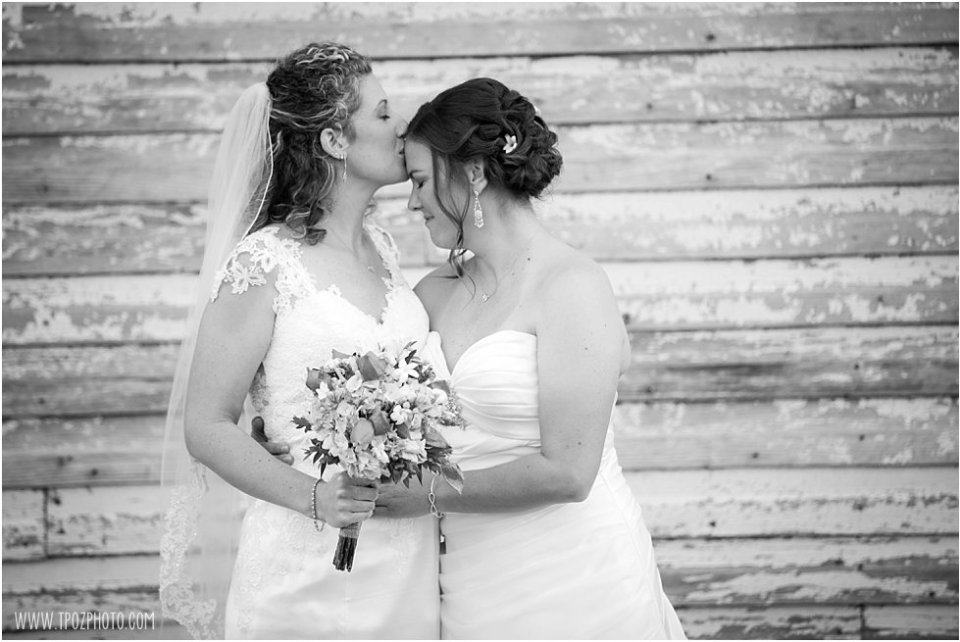 The Oaks lesbian wedding  •  tPoz Photography  •  www.tpozphoto.com
