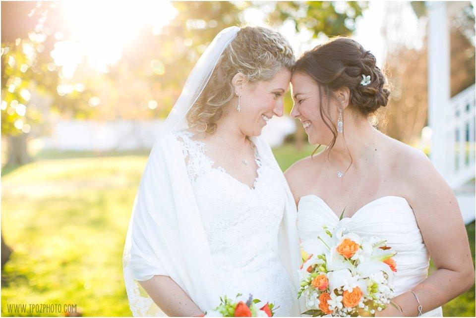 The Oaks St. Michael's lesbian wedding  •  tPoz Photography  •  www.tpozphoto.com