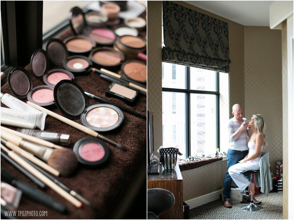 Hotel Monaco Baltimore Wedding Prep  • tPoz Photography  •  www.tpozphotoblog.com