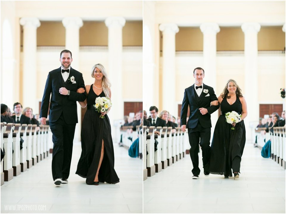 Baltimore Basilica Wedding Ceremony  • tPoz Photography  •  www.tpozphotoblog.com