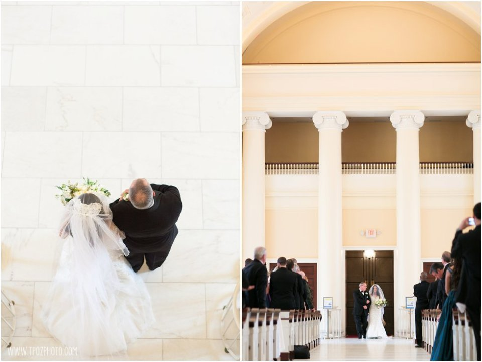 Baltimore Basilica Wedding Ceremony  •  tPoz Photography  •  www.tpozphotoblog.com