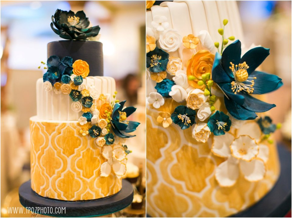 La Cakerie - Baltimore Bride Aisle Style January 2015  •  tPoz Photography  •  www.tpozphoto.com