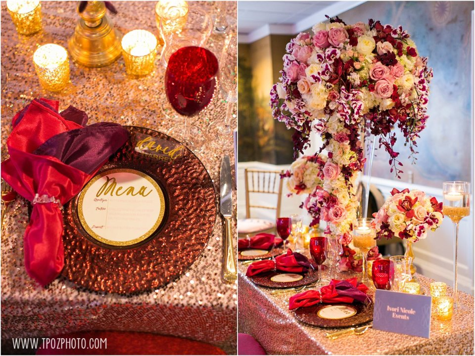 Ivori Nicole Events - Baltimore Bride Aisle Style Event January 2015  •  tPoz Photography  •  www.tpozphoto.com