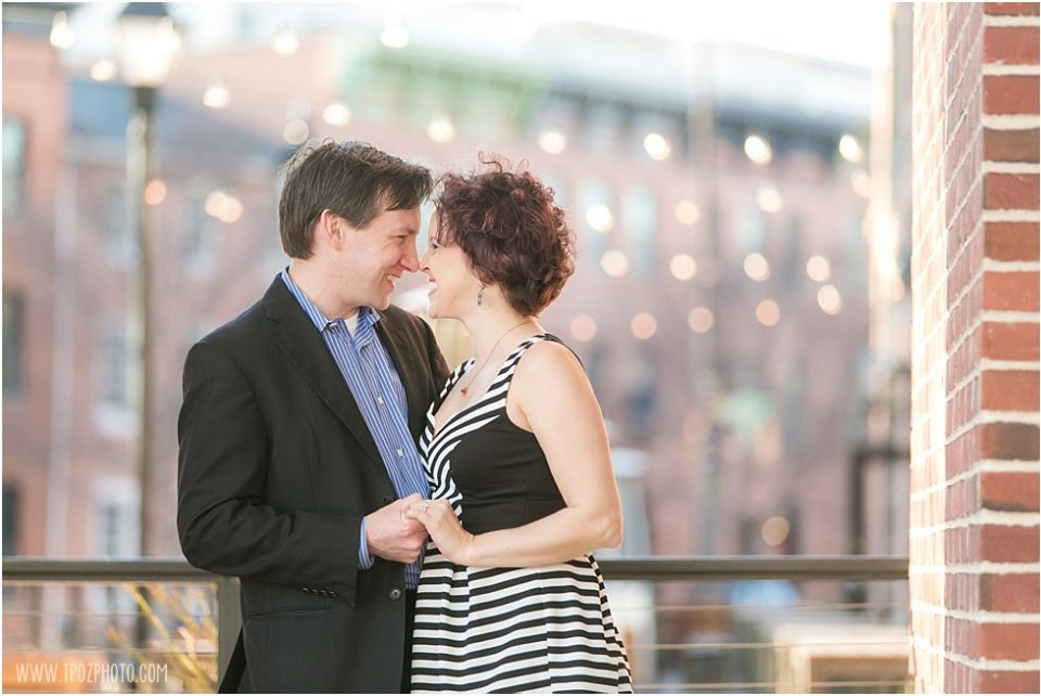 Fells Point Engagement Photos  •  tPoz Photography  •  www.tpozphoto.com