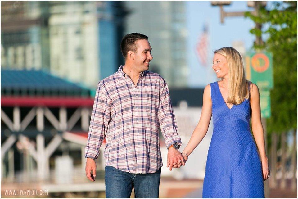 Inner Harbor Baltimore Engagement Pictures  •  tPoz Photography  •  www.tpozphotoblog.com