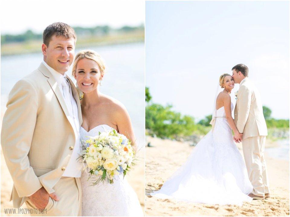 Chesapeake Bay Beach Club Wedding • tPoz Photography • www.tpozphoto.com