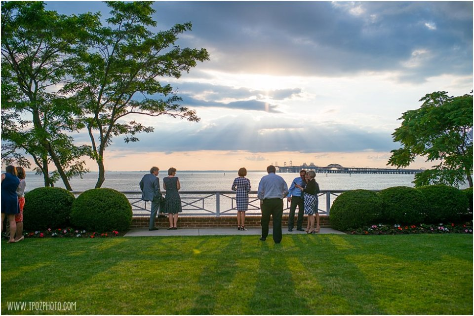 Wedding Reception at the Chesapeake Bay Beach Club • tPoz Photography •  www.tpozphoto.com