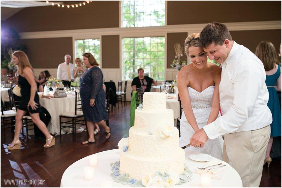 Wedding Reception at the Chesapeake Bay Beach Club • tPoz Photography • www.tpozphoto.com
