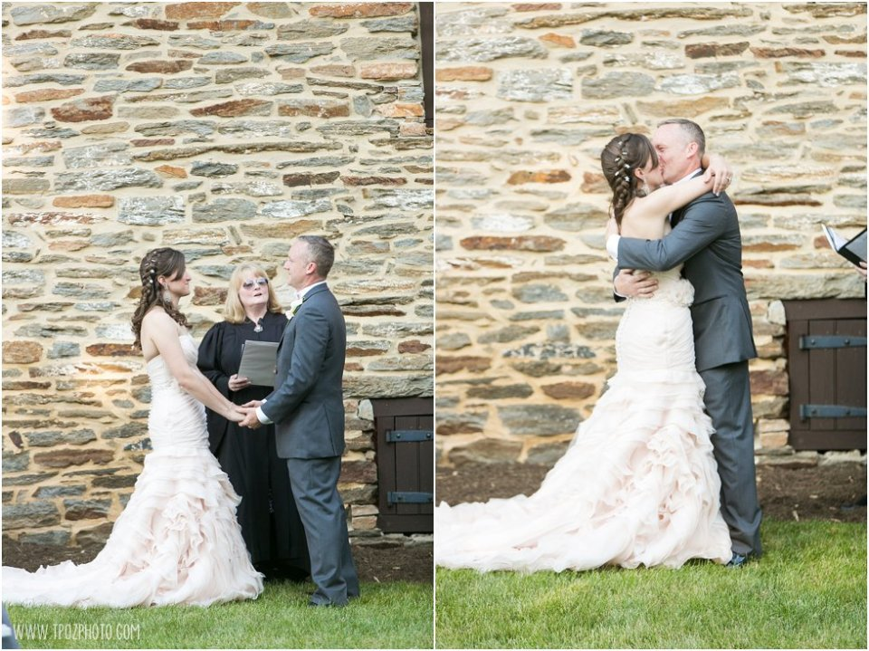 Wedding ceremony at Waverly Mansion  • tPoz Photography  •  www.tpozphoto.com