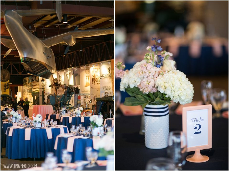 Baltimore Museum of Industry Wedding Reception •  tPoz Photography •  www.tpozphoto.com