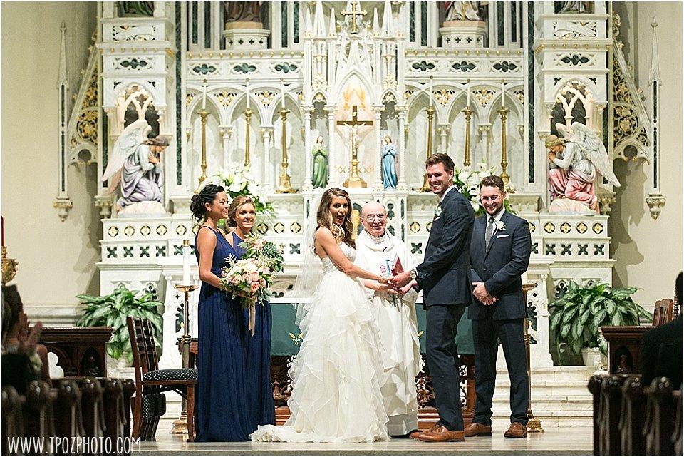 St. Mary's Church Annapolis wedding || tPoz Photography || www.tpozphotoblog.com