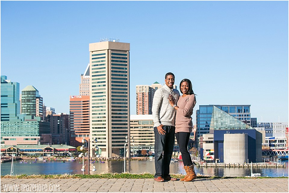 Federal Hill Engagement Proposal || tPoz Photography || www.tpozphoto.com