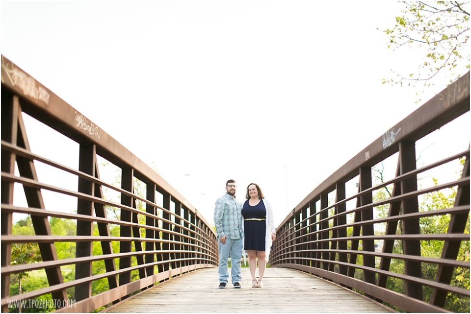 Baltimore Bridge Engagement Photos •  tPoz Photography •  www.tpozphoto.com