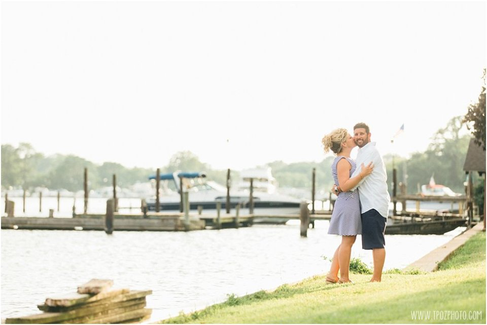 Sparrows Point Engagement Session •  tPoz Photography •  www.tpozphoto.com