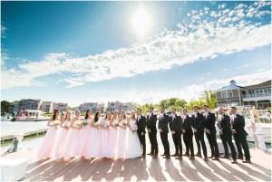 Ocean Pines Yacht Club wedding