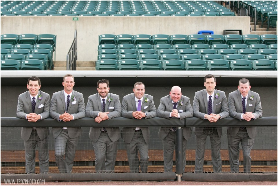 Ripken Stadium Wedding • tPoz Photography • www.tpozphoto.com
