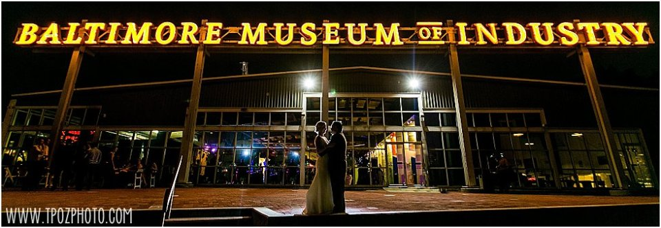 Baltimore Museum of Industry Wedding || tPoz Photograpy || www.tpozphoto.com