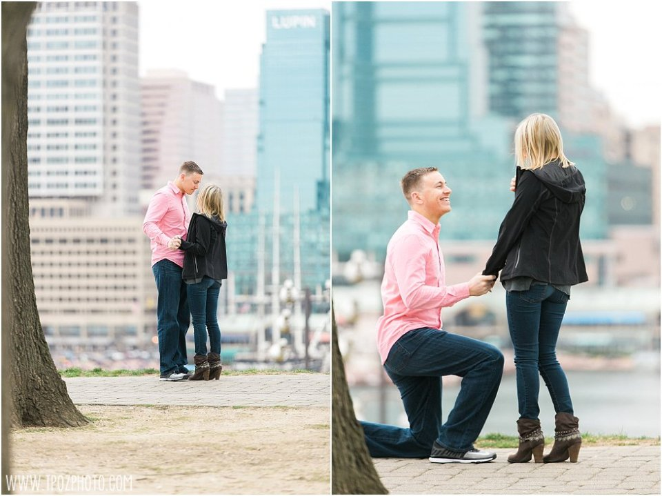 Engagement Proposal in Baltimore || tPoz Photography || www.tpozphoto.com