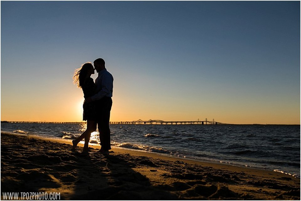 Terrapin Beach Park Engagement Photos || tPoz Photography || www.tpozphoto.com