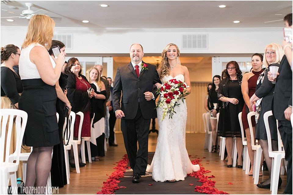 New Years Eve Wedding at Kurtz's Beach in Pasadena, MD || tPoz Photography || www.tpozphoto.com