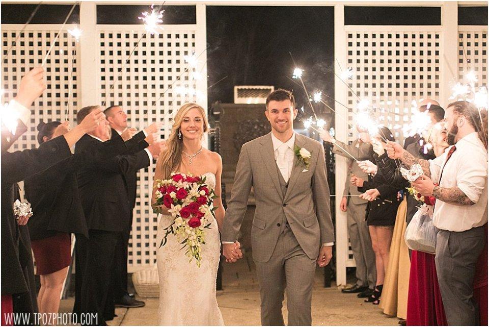 New Years Eve Wedding at Kurtz's Beach in Pasadena, MD || tPoz Photography || www.tpozphoto.com