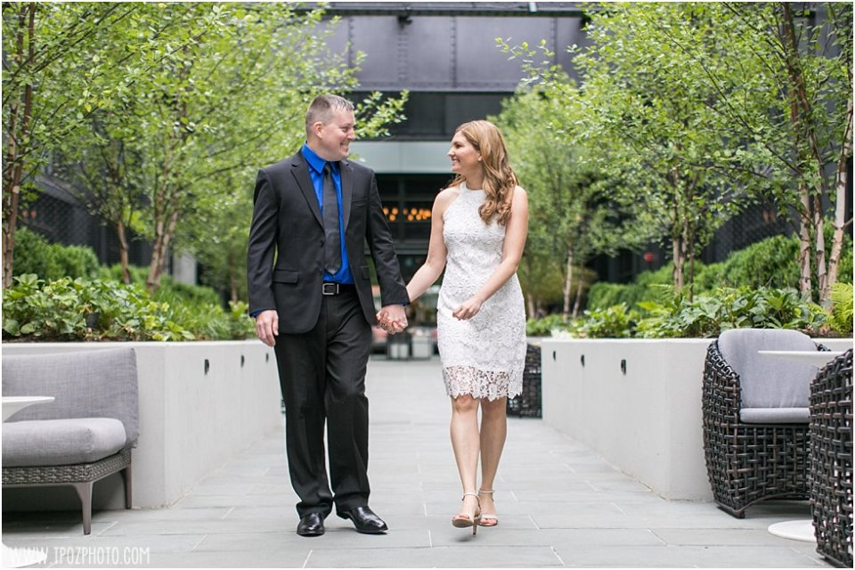 Sagamore Pendry Hotel Wedding Engagement Photos • tPoz Photography • www.tpozphoto.com
