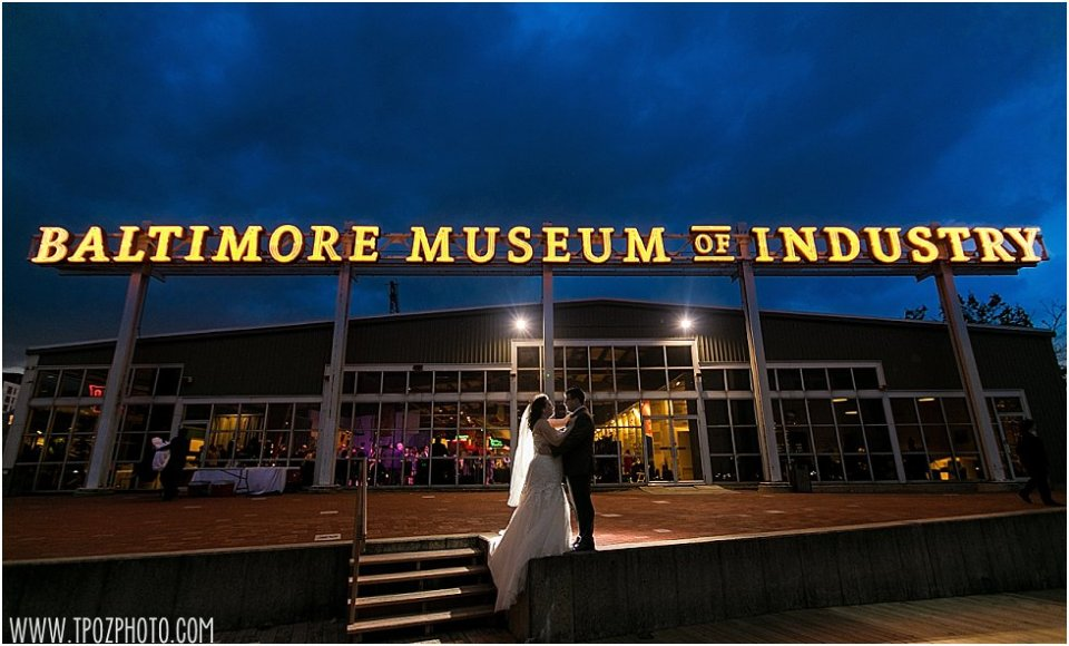 Baltimore Museum of Industry Marquee sign