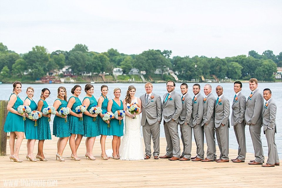 Bleue's on the Water Wedding || tPoz Photography || www.tpozphoto.com