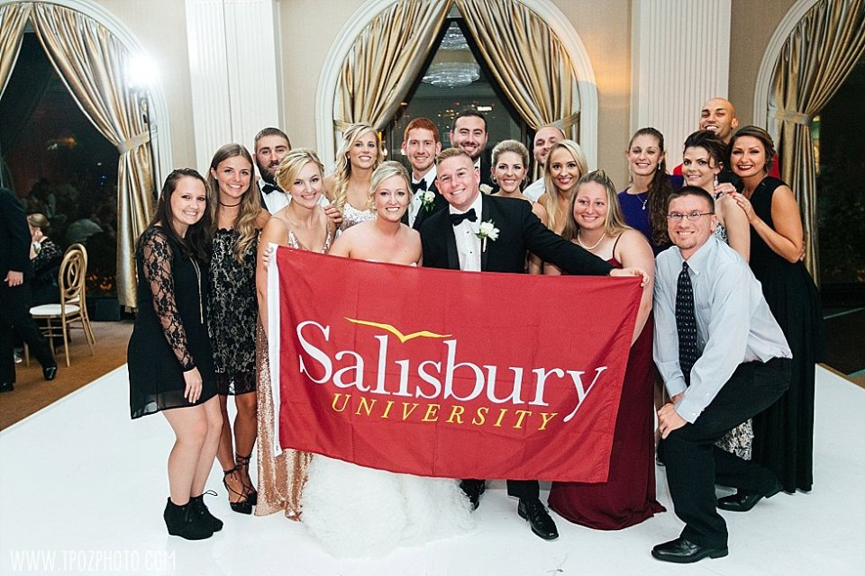 salisbury university Wedding || tPoz Photography || www.tpozphoto.com