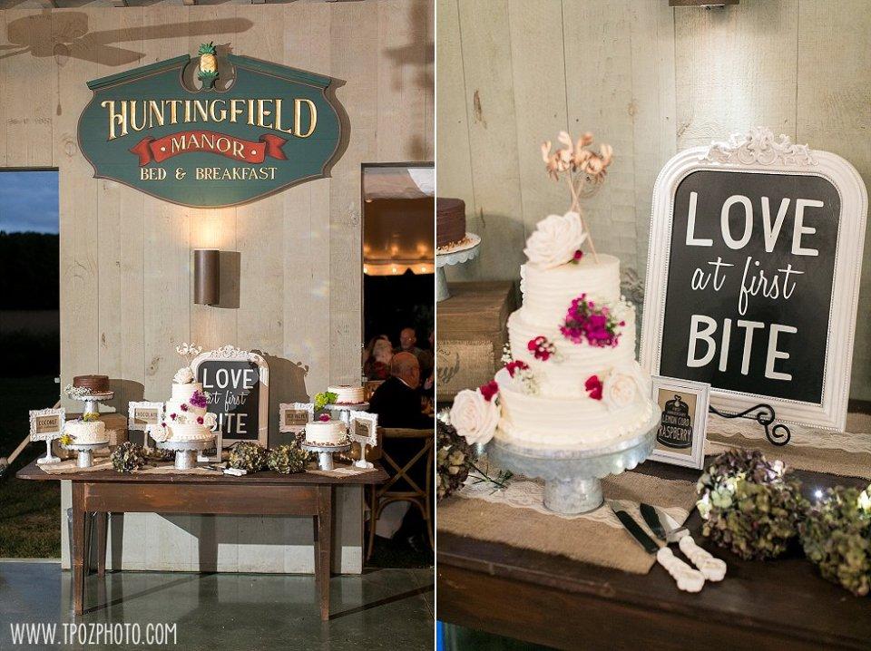 Inn at Huntingfield Creek Wedding || tPoz Photography || www.tpozphoto.com