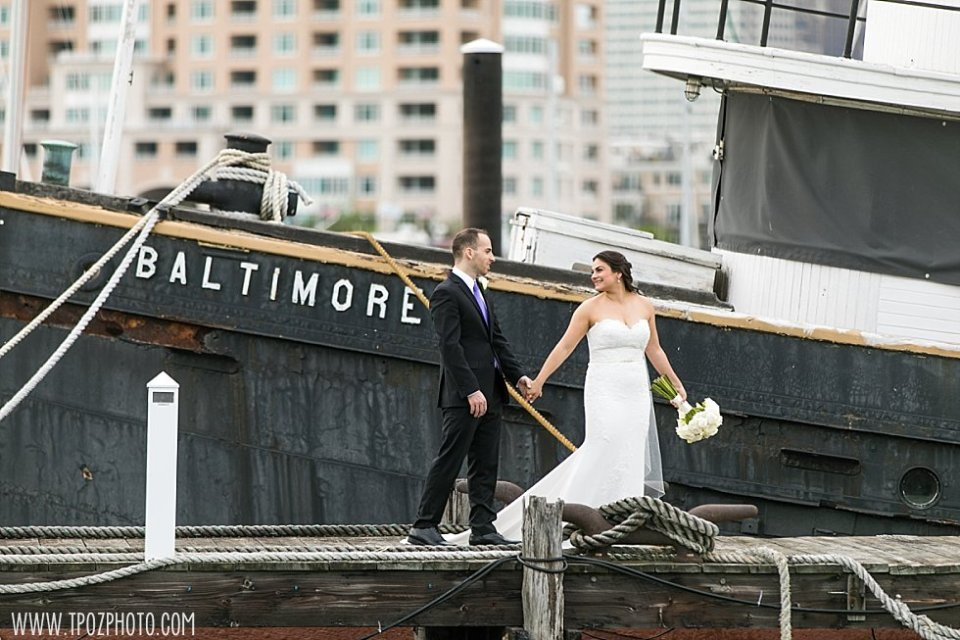 BMI tugboat wedding photos