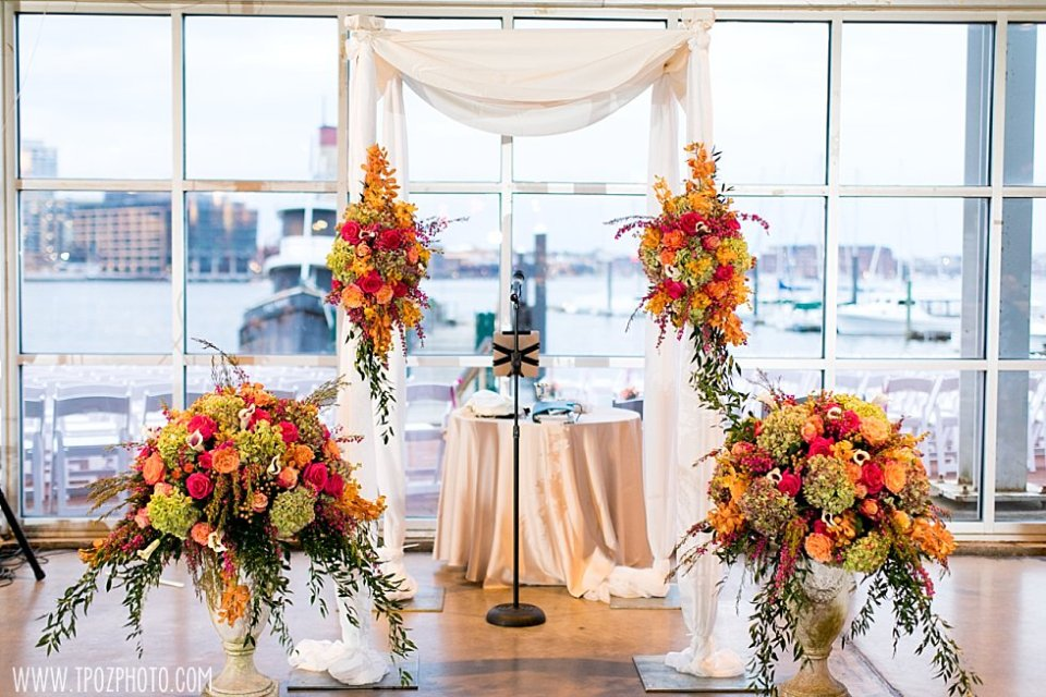 Indoor Wedding Ceremony Option at the Baltimore Museum of Industry