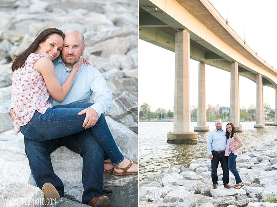 Jonas Green Park Annapolis Engagement || tPoz Photography || www.tpozphoto.com