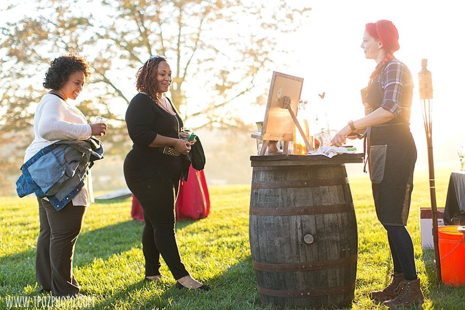 Women Who Whiskey at Sagamore Farm || tPoz Photography || www.tpozphoto.com