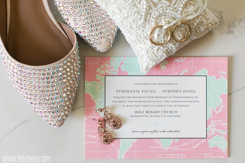 Wedding invitation to the Willard  • tPoz Photography  • www.tpozphoto.com