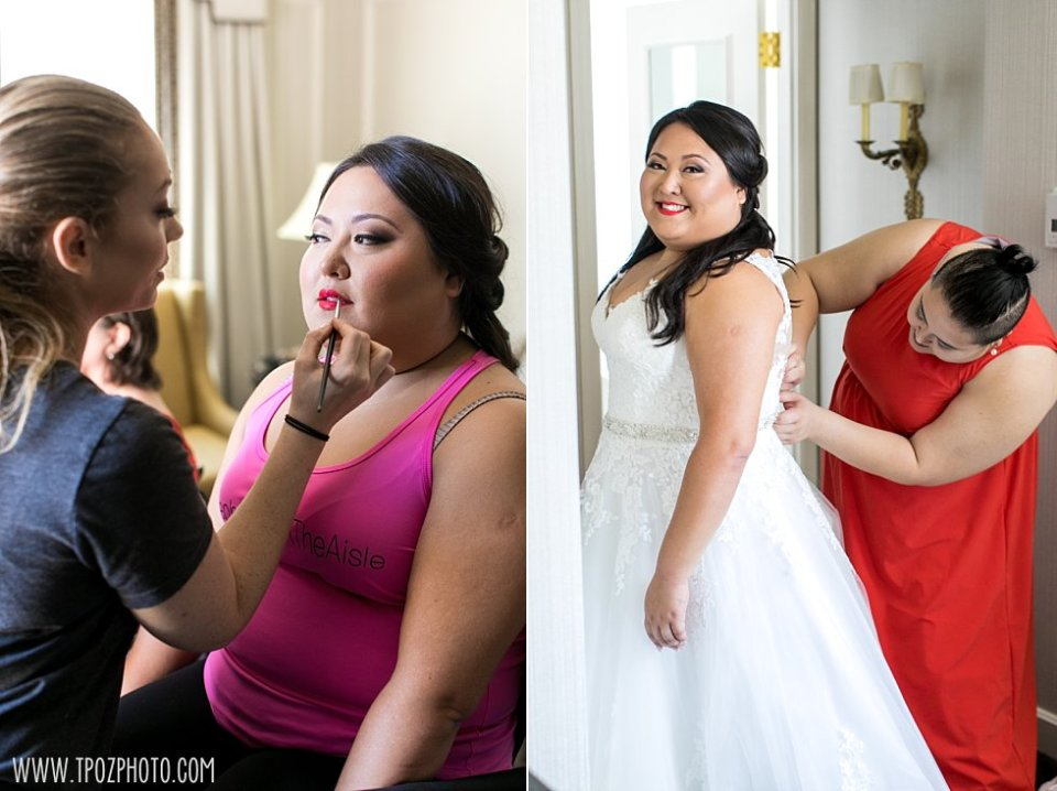 Makeup by Ana B - Wedding at The Willard  •  tPoz Photography  •  www.tpozphoto.com