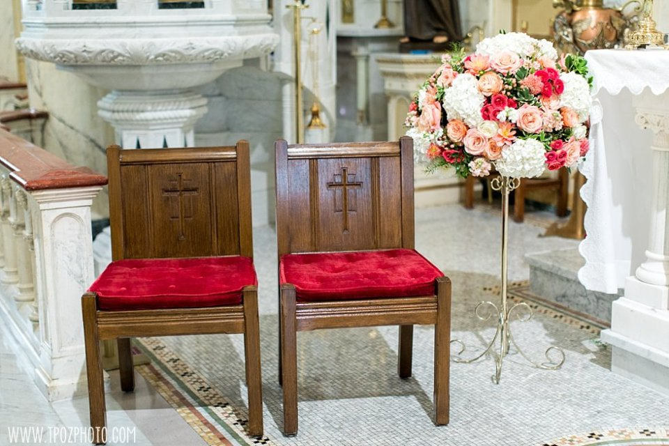 Holy Rosary Church Wedding Ceremony in Washington DC  •  tPoz Photography  •  www.tpozphoto.com